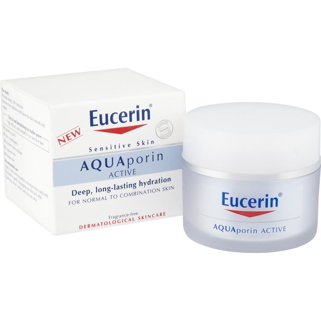 Kem dưỡng ẩm EUCERIN AQUA PORIN ACTIVE FOR NORMAL TO COMBINATION SKIN