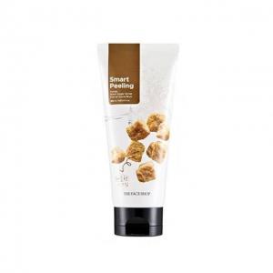 Tẩy tế bào da chết mật ong đường đen Smart Peeling Honey Black Sugar Scrub The Face Shop