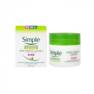 kem dưỡng simple vital vitamin cream Day 50ml