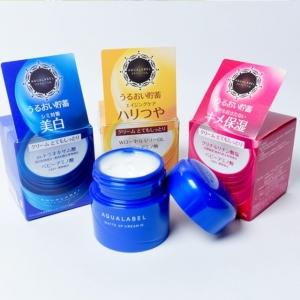 Kem Dưỡng Trắng Da Shiseido Aqualabel (xanh, đỏ, vàng)
