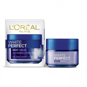 Kem dưỡng da ban đêm L'Oréal Paris White Perfect Night Cream