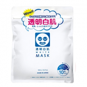 Mặt nạ Transparent Shirahada White Mask