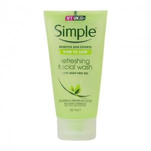 Gel Rửa Mặt Simple Kind To Skin Refreshing Facial Wash