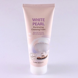 Sữa Rửa Mặt Sáng Da Ngọc Trai Flora Beauty White Pearl