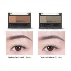 Bột Tán Chân Mày Innisfree Two Tone Eyebrow Kit 3.5g
