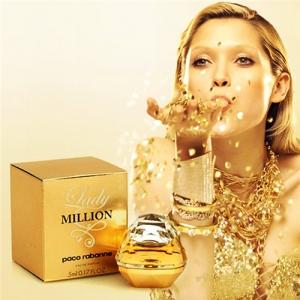 Nước Hoa Nữ Mini Authentic - Lady Million Paco Rabanne