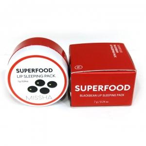 Mặt Nạ Ngủ Dưỡng Ẩm Môi Missha Superfood Black Bean Lip