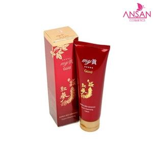 Sữa rửa mặt sâm đỏ My Gold Korea Red Ginseng Foam Cleansing