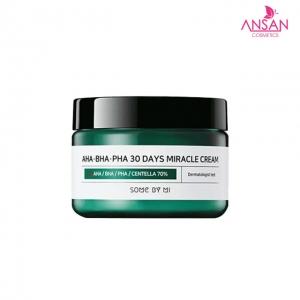 Kem Dưỡng Da Trị Mụn Some By Mi AHA-BHA-PHA 30 Days Miracle Cream