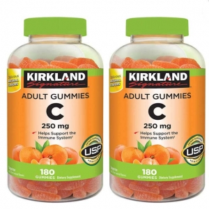 Kẹo dẻo bổ sung Vitamin C Kirkland Signature Adult Gummies C 250mg