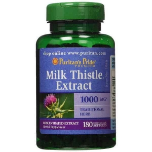 viên uống bổ gan milk thistle extract