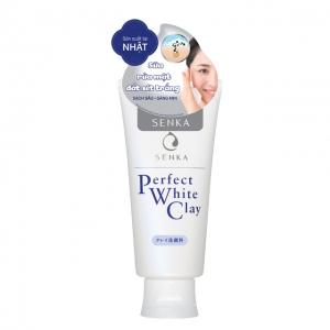 Sữa rửa mặt Senka Perfect White Clay
