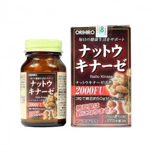 Viên Uống chống đột quỵ Orihiro Nattokinase 2000FU