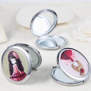Gương soi mini 2 mặt kính