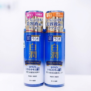 Nước hoa hồng Hadalabo Shirojyun Whitening Premium Lotion