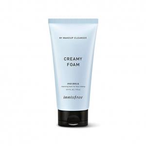 Sữa Rửa Mặt Tạo Bọt Kết Hợp Tẩy Trang Innisfree My Makeup Cleanser Creamy Foam