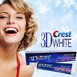 Kem đánh răng Crest 3D White Radiant Mint 156g