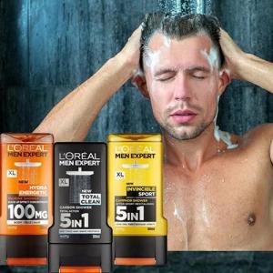 Sữa tắm gội Loreal 3in1 Men Expert dành cho nam