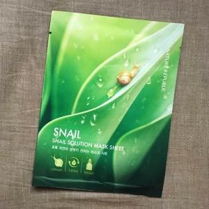 Mặt Nạ Ốc Sên Nature Republic Snail Solution