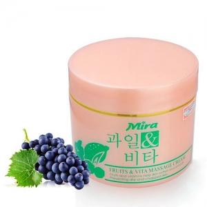 Kem massage tổng hợp Mira Fruit & Vita Massage Cream