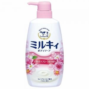 Sữa Tắm Kyoshinsha Cow Brand Milky Body Soap