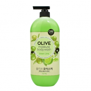 Sữa tắm On the body Olive Moisture Body Wash Green Lime