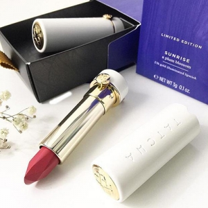 Son Tatcha Twilight A Cherry Blossom Silk Lipstick