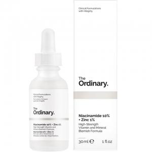 Tinh Chất Trị Mụn và Thâm The Ordinary Niacinamide 10% + Zinc 1% 30ml