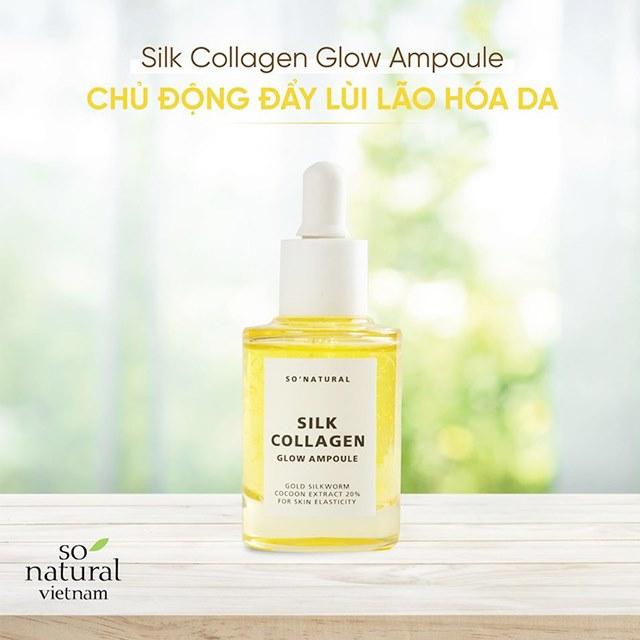 Tinh Chất Dưỡng Da Silk Collagen Glow Ampoule