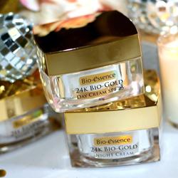 Kem dưỡng chống lão hóa Bio-Essence 24K Gold Night Cream