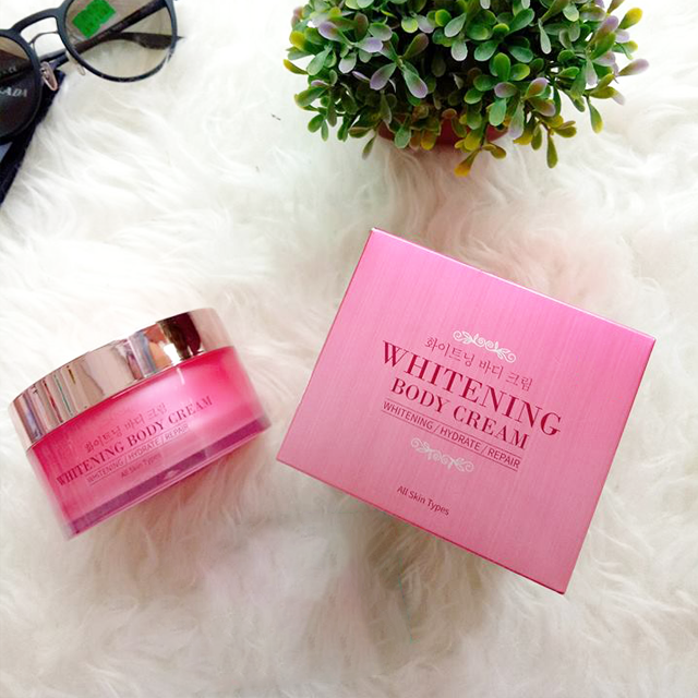 Kem Dưỡng Trắng Whitening Body Cream Harisu Cosmetic