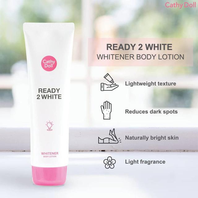 Sữa dưỡng thể trắng da Cathy Doll Ready 2 White Whitener Body Lotion