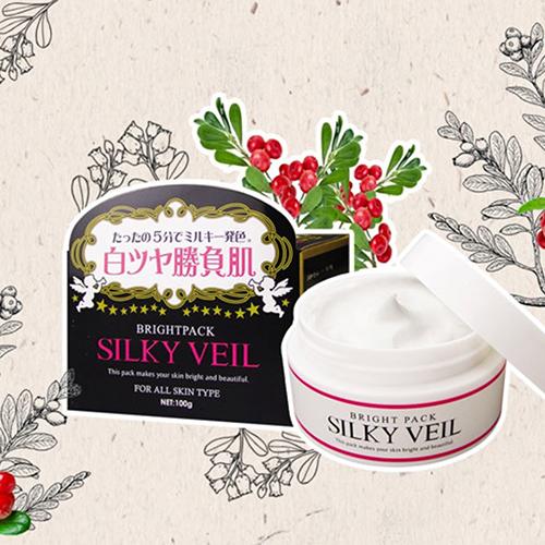 Kem dưỡng trắng da toàn thân Silky Veil Nhật Bản