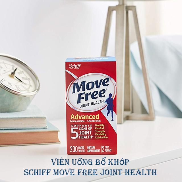 Viên bổ khớp Schiff Move Free Advanced Glucosamine Chondrotin 200 viên