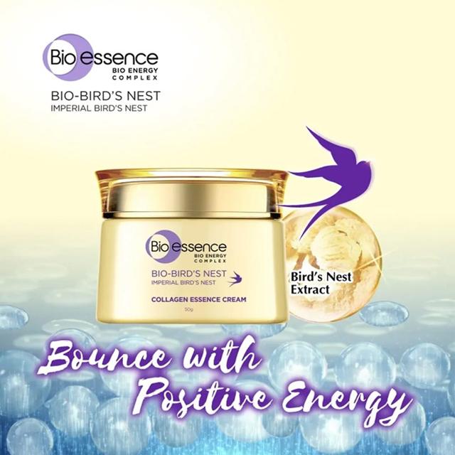 Kem dưỡng trắng da Bio-Essence Bio-Bird's Nest Collagen Essence Cream