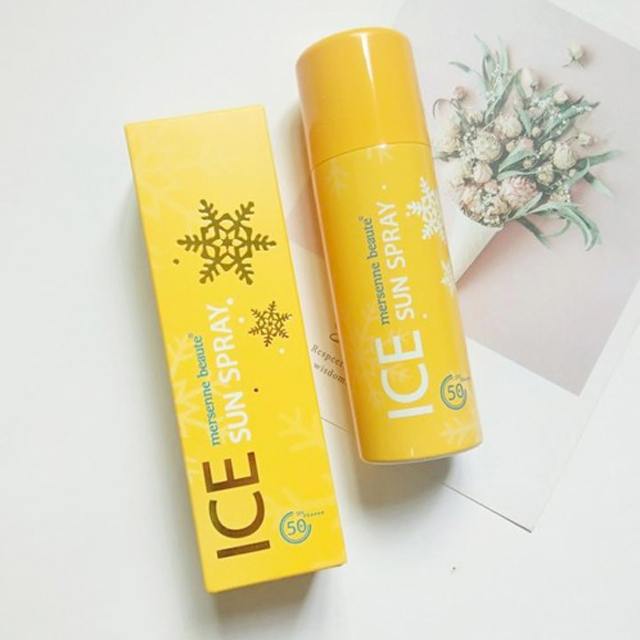 Xịt chống nắng Ice Sun Spray Mersenne Beaute