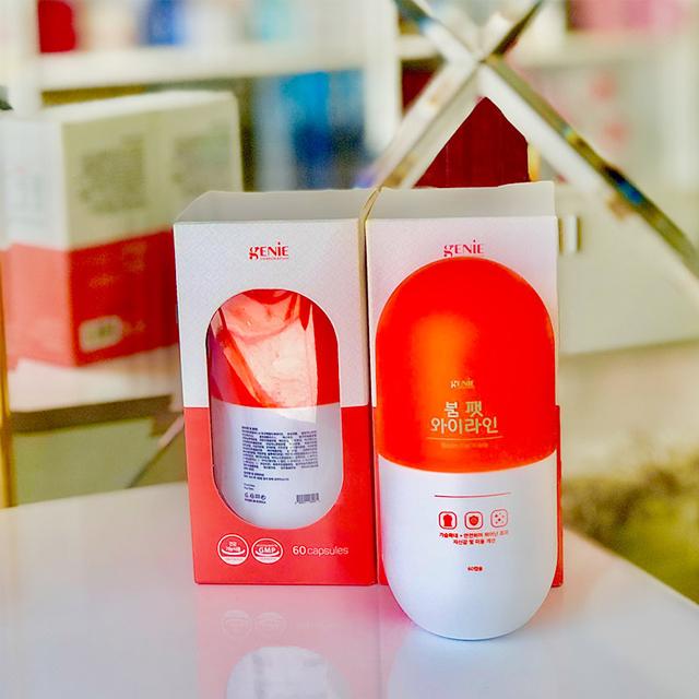 Viên uống nở ngực Genie Boom Fat Yline Hàn Quốc